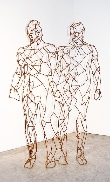 Twin: steel; 2012. SOLD